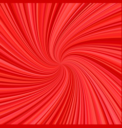 Spiral background - design from rays in red tones vector
