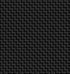 Black cloth texture vector