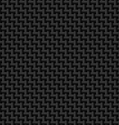 Black cloth texture vector image vector image