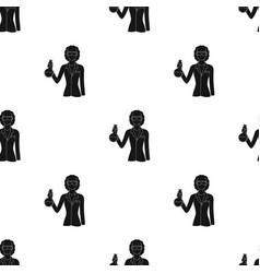 Chemistprofessions single icon in black style vector
