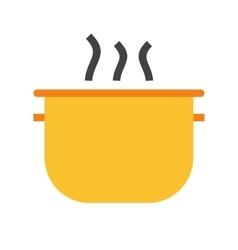 Cooking pot vector