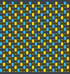 Intertwined fiber texture seamless pattern vector