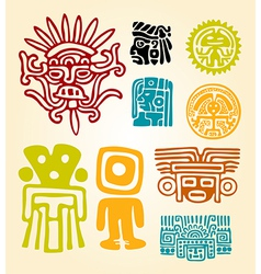 Maya set- symbols vector