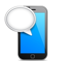 Mobile phone message vector