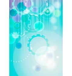 technical abstract background - vertical format vector image