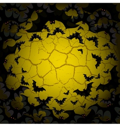 Bat background vector