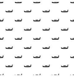 Gondola pattern simple style vector image