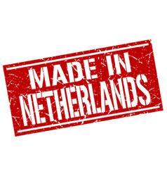 Made in netherlands stamp vector