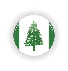 Norfolk islands icon circle vector