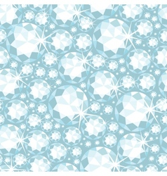 Shiny diamonds seamless pattern background vector image