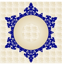 Antique ottoman turkish pattern design fourty one vector