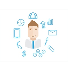 Business work vector