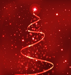 most beautiful christmas trees 1 vector image vector image