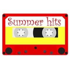 Summer hits vector image vector image