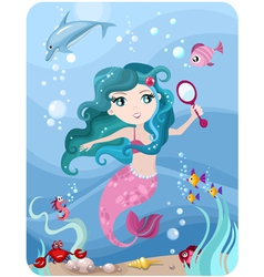 Mermaid vector