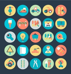 Construction icons 1 vector