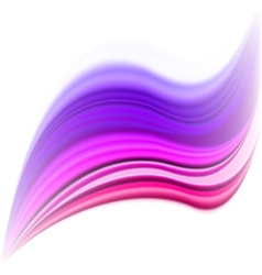 Abstract pink waves design vector image vector image