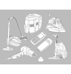 Household goods vector