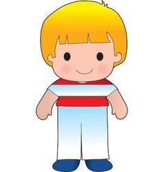 Poppy Austria Boy vector image vector image
