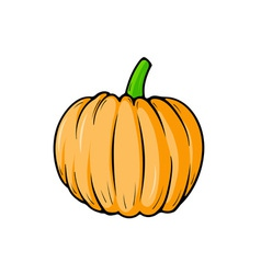 Pumpkin cartoon vector