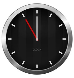 Dark Clock vector image