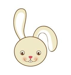Rabbit or bunny icon image vector