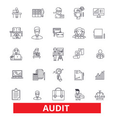 Audit review accounting compliance finance vector