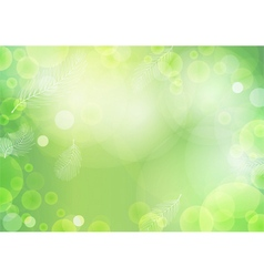 Green background with light vector