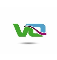 VO logo vector image vector image