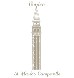 St marks campanile vector