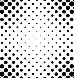 Abstract monochrome dot pattern background vector