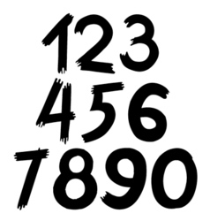 Digital number vector