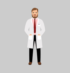 geneticist medical specialist vector image