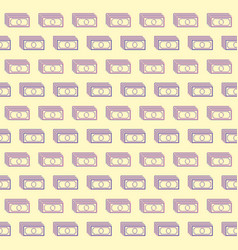 Seamless background pattern of banknote vector