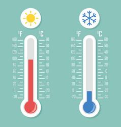 temperature vector image