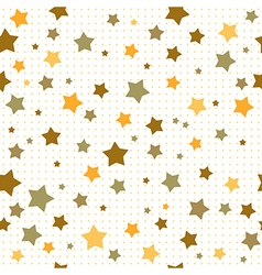 Brown stars vector