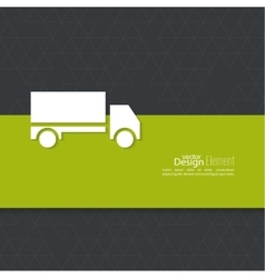 Concept delivery service vector