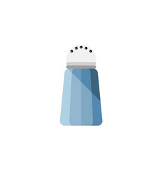 Isolated salt flat icon spice element can vector