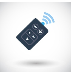 Remote control icon vector