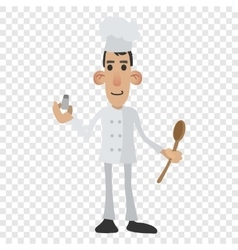 Chef cartoon icon vector