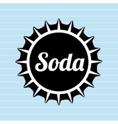 Drink lid design vector
