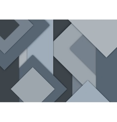 Geometrical background Cool gray color vector image vector image