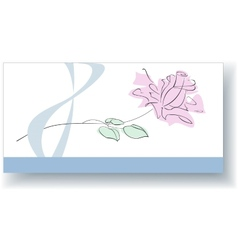 Greeting card for March 8 vector image