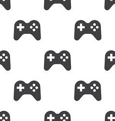 joystick seamless pattern vector image vector image
