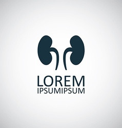 Kidneys symbol vector image