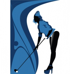 Sexy golf vector