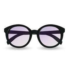 Sunglasses realistic icon vector image