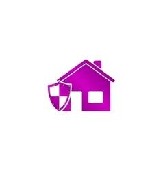 House shield icon vector