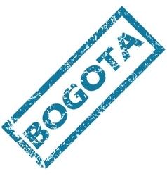Bogota rubber stamp vector