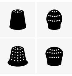 Thimbles vector image vector image